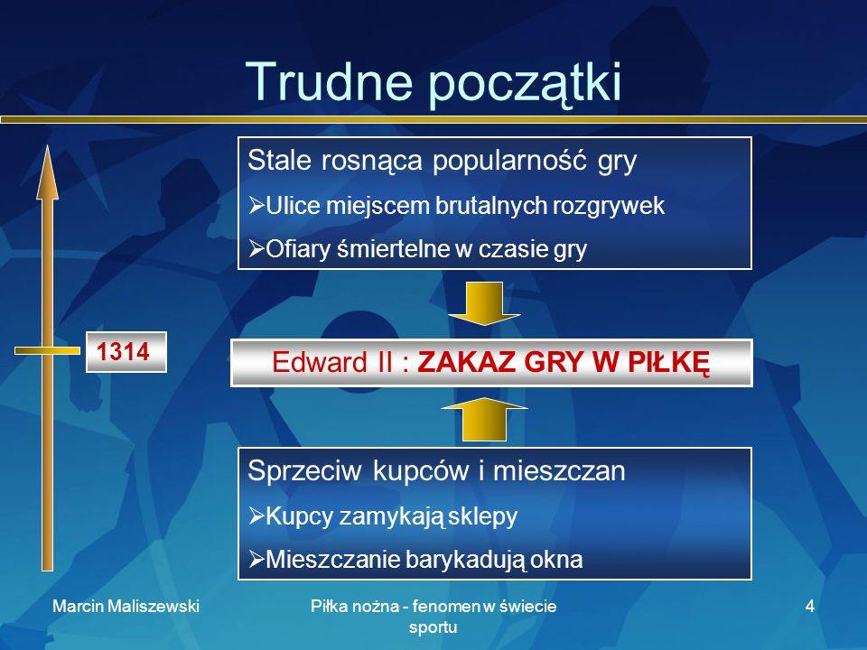 Marcin MaliszewskiPiłka nożna - fenomen w świecie sportu 15 Król jest tylko jeden Futbol jest jak muzyka.