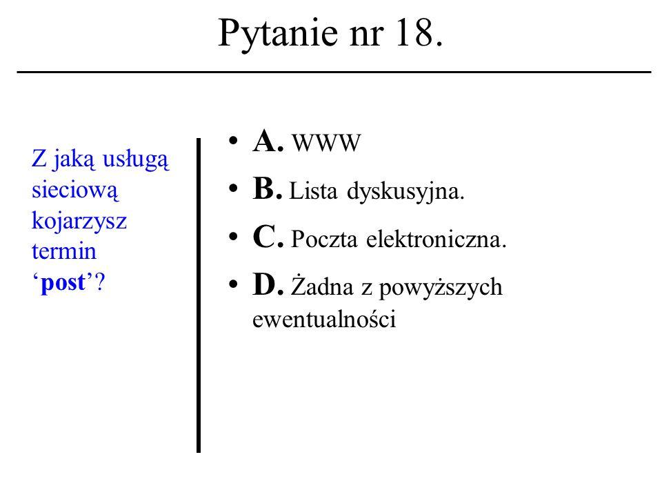 Pytanie nr 17.