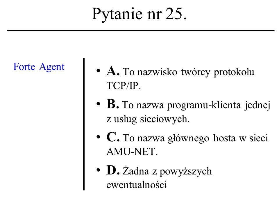Pytanie nr 24. Tzw.hipernoma- dyzacja społeczeń- stwa (wedle A.Kocikows- kiego): A.