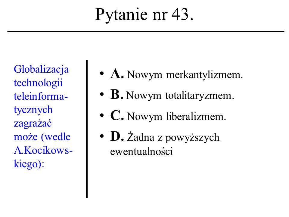 Pytanie nr 42. Link, hiperłącze, hiperpołą- czenie A.