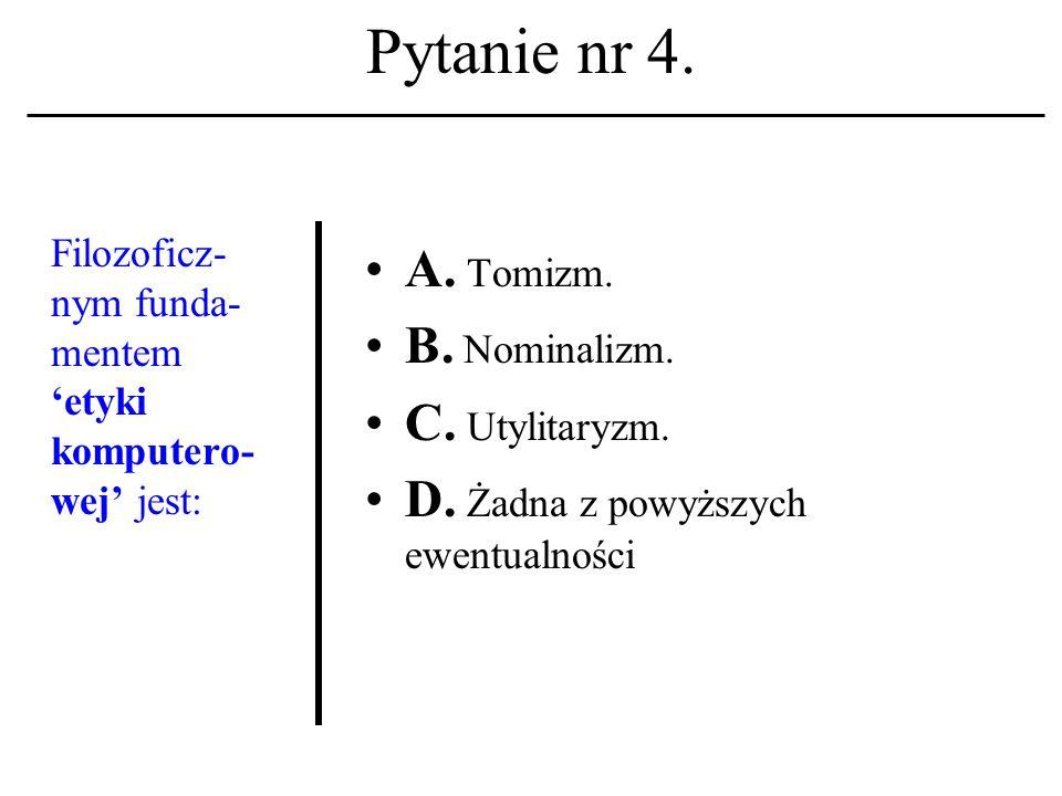 Pytanie nr 3.