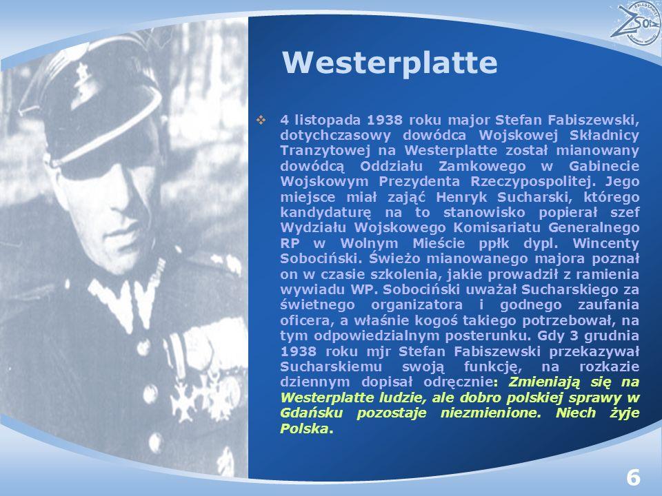 Westerplatte była w tym czasie placówką trudną, ale dobrze przygotowaną do obrony, zarówno pod względem uzbrojenia, jak i wyszkolenia.