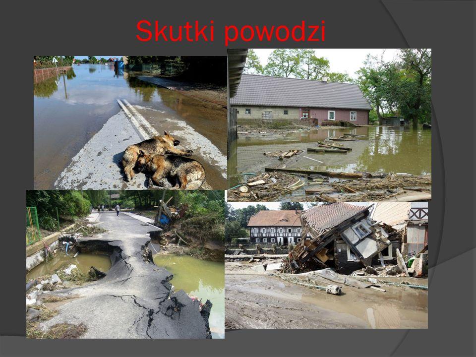 Skutki powodzi