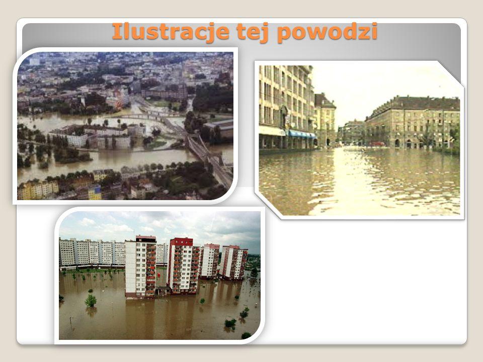 Ilustracje tej powodzi