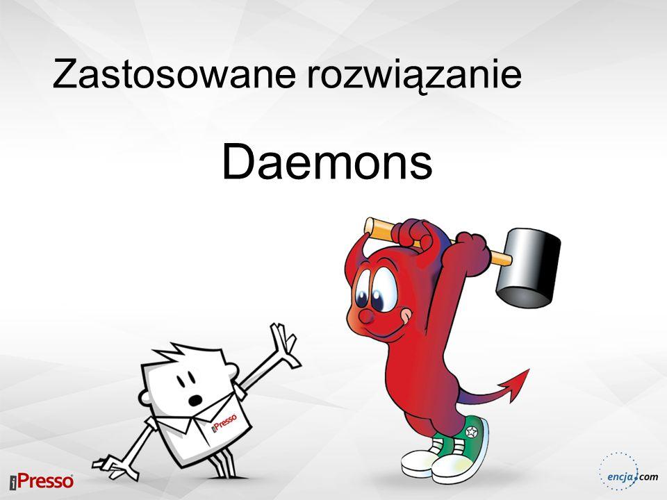 Zastosowane rozwiązanie Daemons