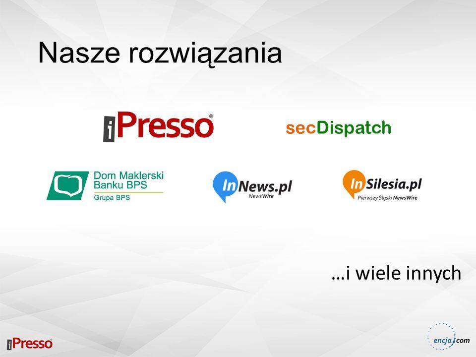 iPresso Platforma dla nowoczesnych i skutecznych marketerów, która posiada w jednym miejscu profesjonalne narzędzia