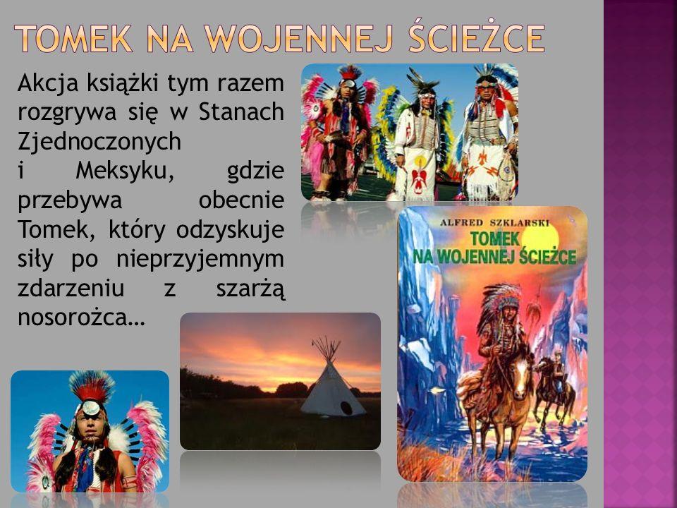 Akcja książki tym razem rozgrywa się w Stanach Zjednoczonych i Meksyku, gdzie przebywa obecnie Tomek, który odzyskuje siły po nieprzyjemnym zdarzeniu z szarżą nosorożca…