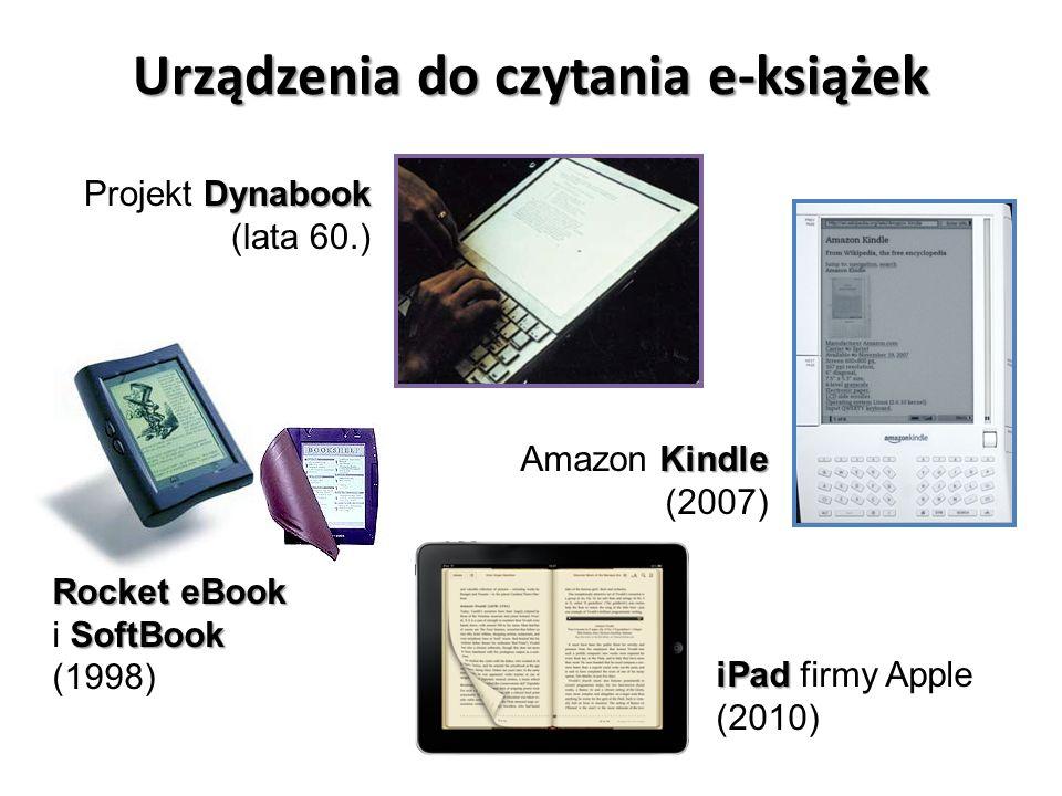 Rynek książki a e-booki (w 2012) E-booki miały 20% udział w amerykańskim rynku książki.