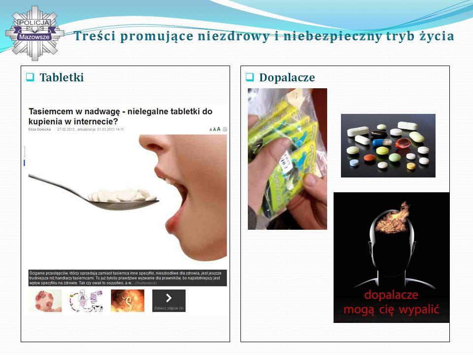 Tabletki Dopalacze