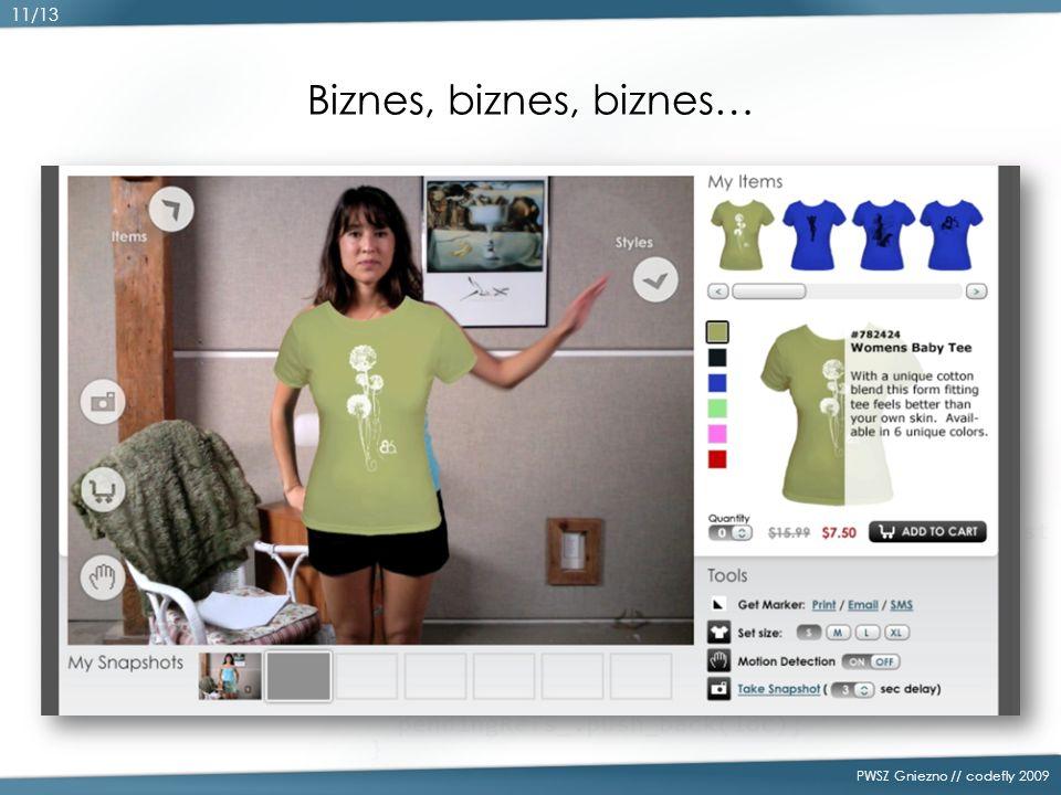 Biznes, biznes, biznes… PWSZ Gniezno // codefly 2009 11/13