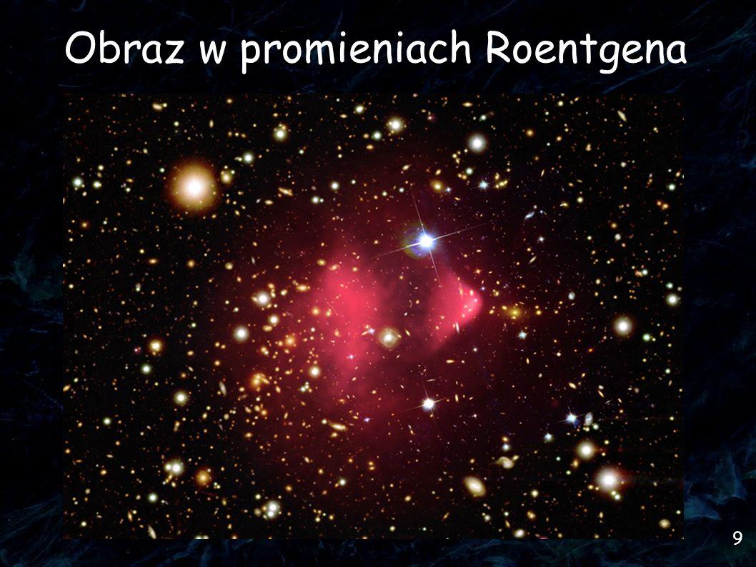 10 Ciemna materia w gromadzie Skąd o niej wiemy?