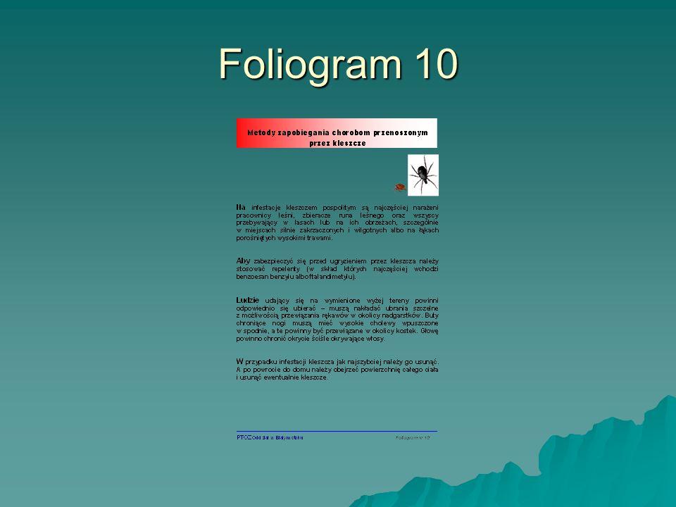 Foliogram 10