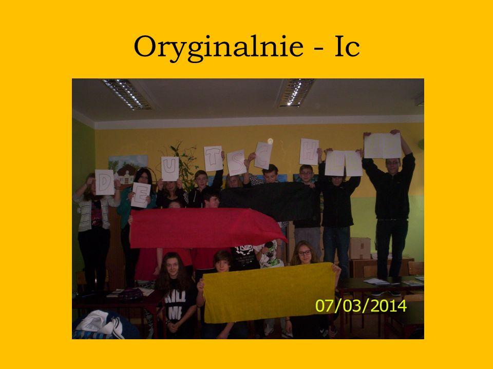Oryginalnie - Ic