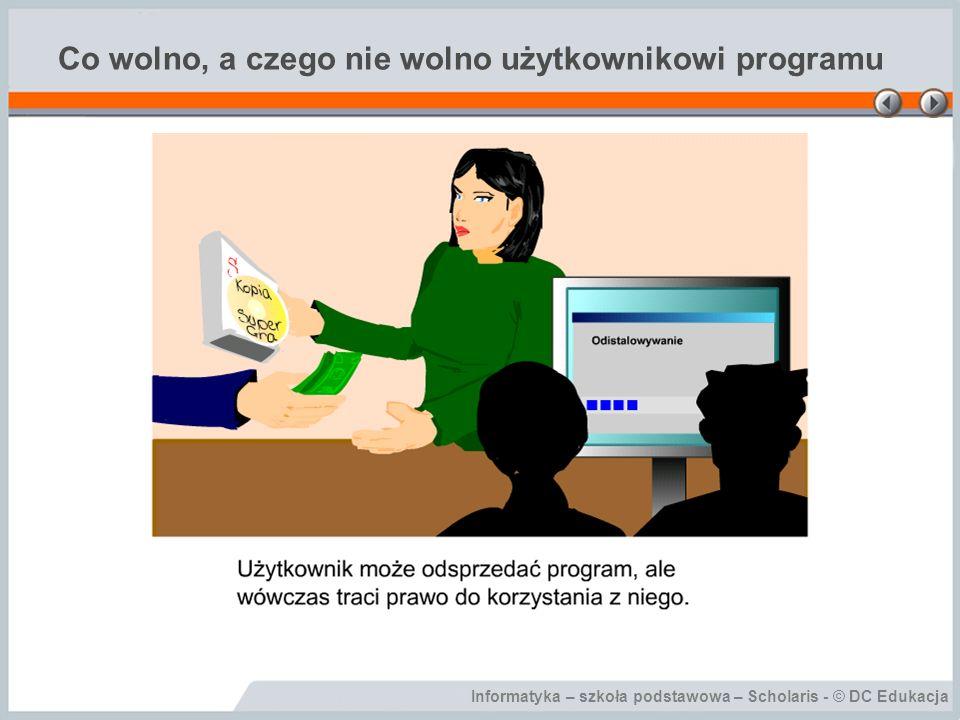 Informatyka – szkoła podstawowa – Scholaris - © DC Edukacja Public domain