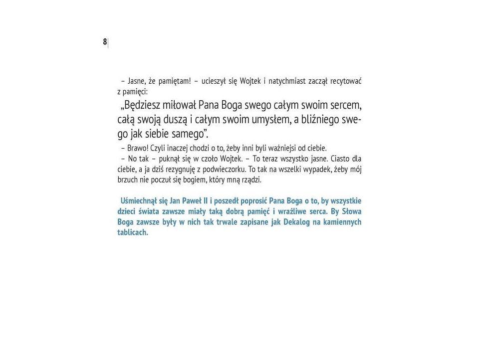 Przeczytaj poniższy fragment książki Niebieskie okno… Odegrajcie scenkę: mama, Zuzia i Filip.