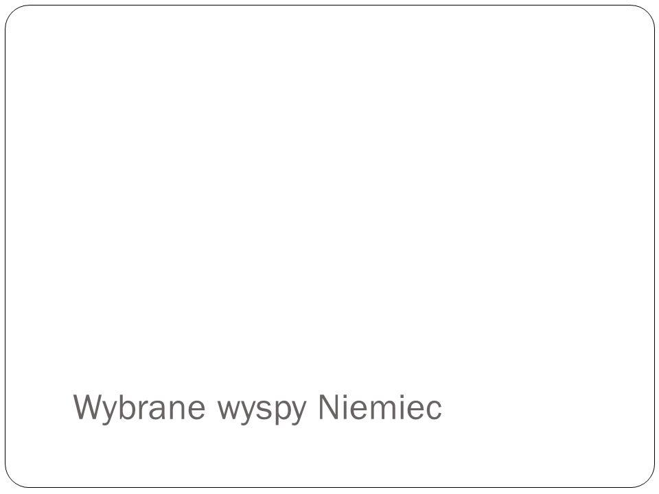 Fehmarn, Sylt, Föhr, Pellworm Co oznaczają te nazwy?