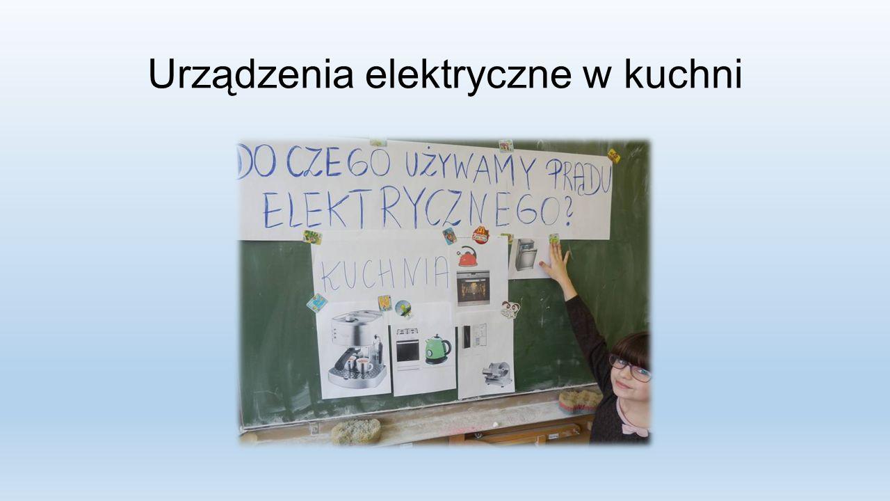 Urządzenia elektryczne w kuchni