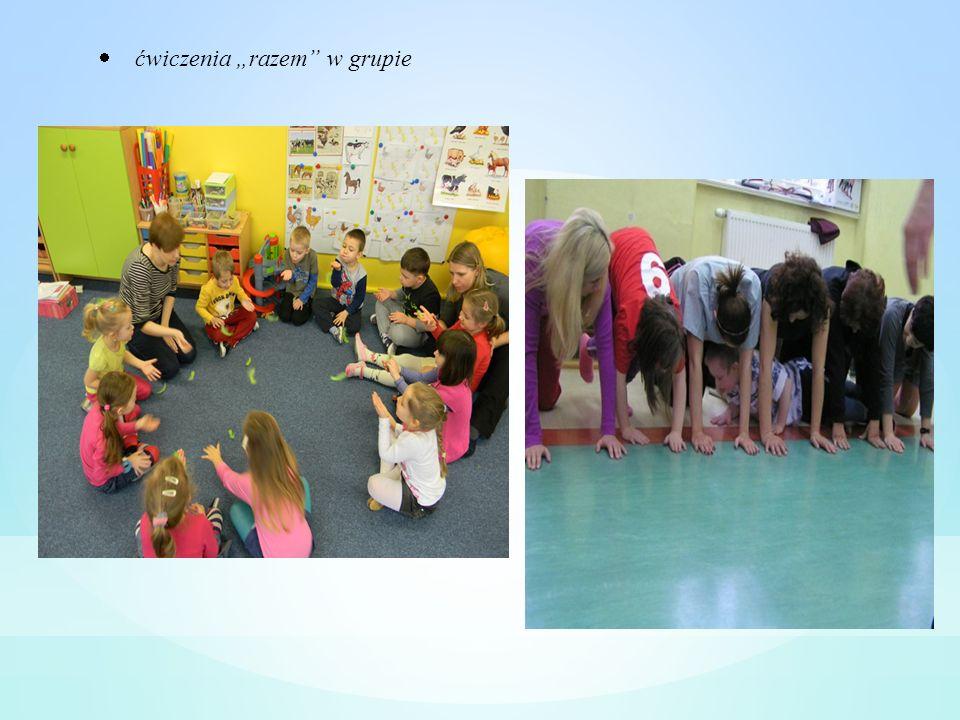 ćwiczenia razem w grupie