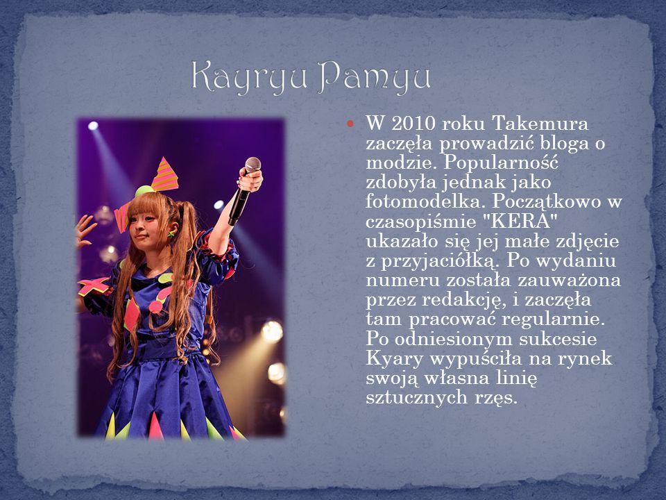 W 2010 roku Takemura zaczęła prowadzić bloga o modzie.