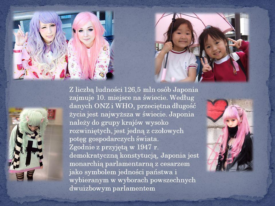 Z liczbą ludności 126,5 mln osób Japonia zajmuje 10.