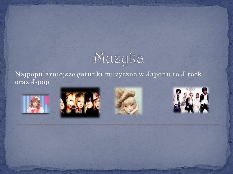 Najpopularniejsze gatunki muzyczne w Japonii to J-rock oraz J-pop
