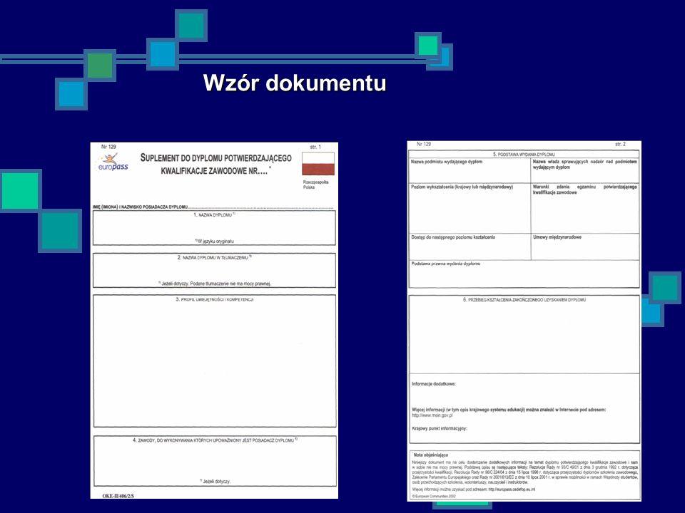 20 Wzór dokumentu