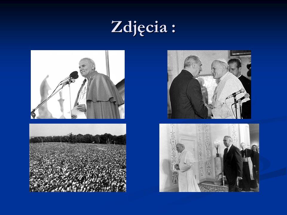 Wiele wydarzyło się w Polsce od czasu pierwszej pielgrzymki : wybuchło pokojowe powstanie Sierpień80 wybuchło pokojowe powstanie Sierpień80 powstała Solidarność powstała Solidarność 13 maja 1981 r.