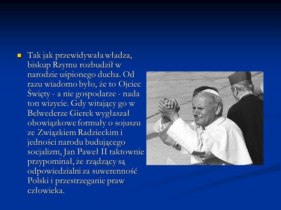 Z pielgrzymką wiązano ogromne nadzieje, była ona dla Polaków czymś więcej niż – jak to określił dziennik Corriere della Sera – świętem tłumów i wspomnień .