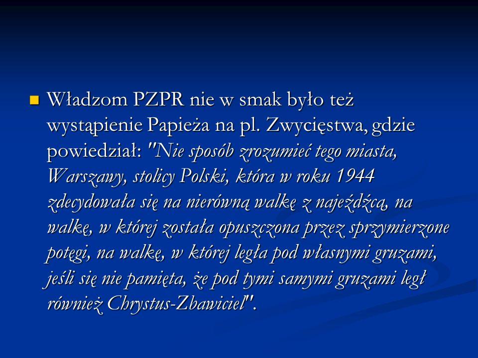 Trasa : 1 czerwca - Koszalin (przylot) 1 czerwca - Koszalin (przylot) 2 czerwca - Koszalin, Rzeszów, Przemyśl, Lubaczów 2 czerwca - Koszalin, Rzeszów, Przemyśl, Lubaczów 3 czerwca - Lubaczów, Kielce 3 czerwca - Lubaczów, Kielce 4 czerwca - Radom, Łomża 4 czerwca - Radom, Łomża 5 czerwca - Łomża, Białys tok, Olsztyn 5 czerwca - Łomża, Białys tok, Olsztyn 6 czerwca - Olsztyn, Włocławek 6 czerwca - Olsztyn, Włocławek 7 czerwca - Włocławek, Płock, Warszawa 7 czerwca - Włocławek, Płock, Warszawa 8 - 9 czerwca - Warszawa 8 - 9 czerwca - Warszawa 13 sierpnia - Kraków 13 sierpnia - Kraków 14 sierpnia - Kraków, Wadowice, Częstochowa 14 sierpnia - Kraków, Wadowice, Częstochowa 15 sierpnia - Częstochowa 15 sierpnia - Częstochowa 16 sierpnia - Częstochowa, Kraków -(pożegnanie) 16 sierpnia - Częstochowa, Kraków -(pożegnanie)