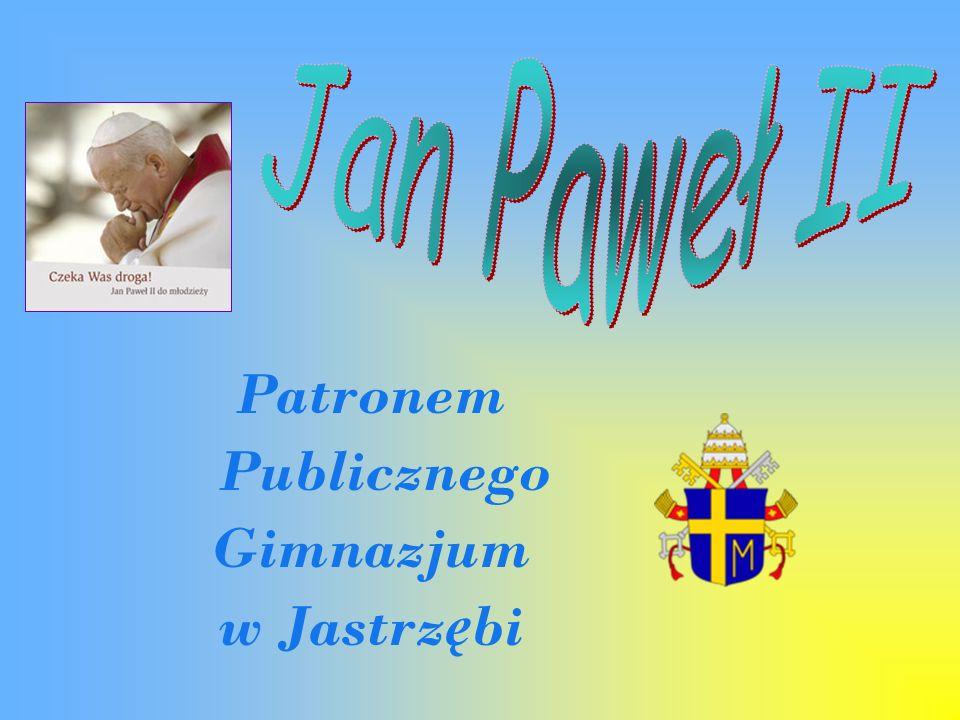 Patronem Publicznego Gimnazjum w Jastrz ę bi
