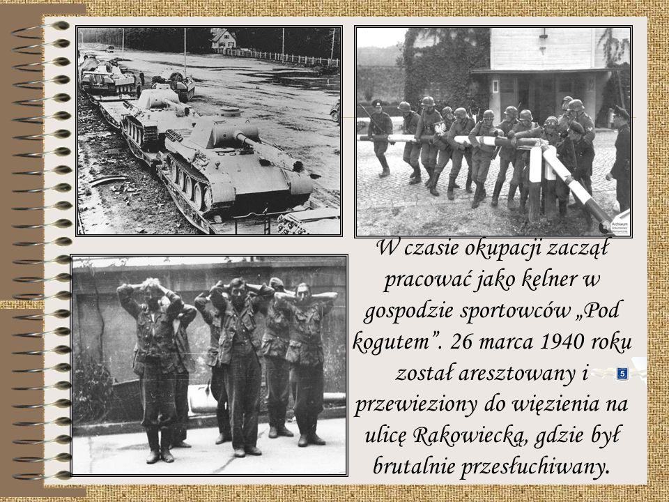 Pasmo sukcesów przerwał wybuch drugiej wojny światowej. 1 września 1939 r. kapral Kusociński nie został objęty mobilizacją. Udał się jednak do cytadel