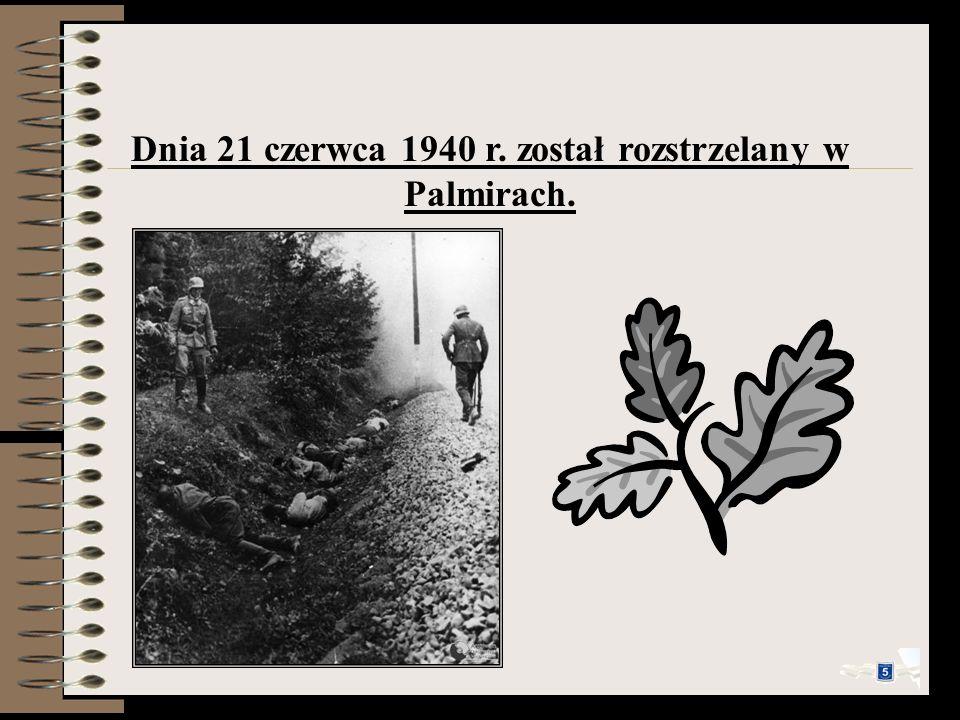 W czasie okupacji zaczął pracować jako kelner w gospodzie sportowców Pod kogutem. 26 marca 1940 roku został aresztowany i przewieziony do więzienia na