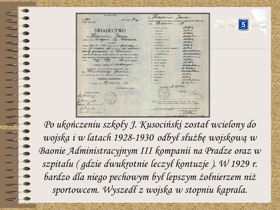 Pierwszym występem w barwach narodowych były dla niego zawody z Czechosłowacją w Pradze 16 i 17 września 1928 r. Odniósł tam wspaniałe zwycięstwo i po