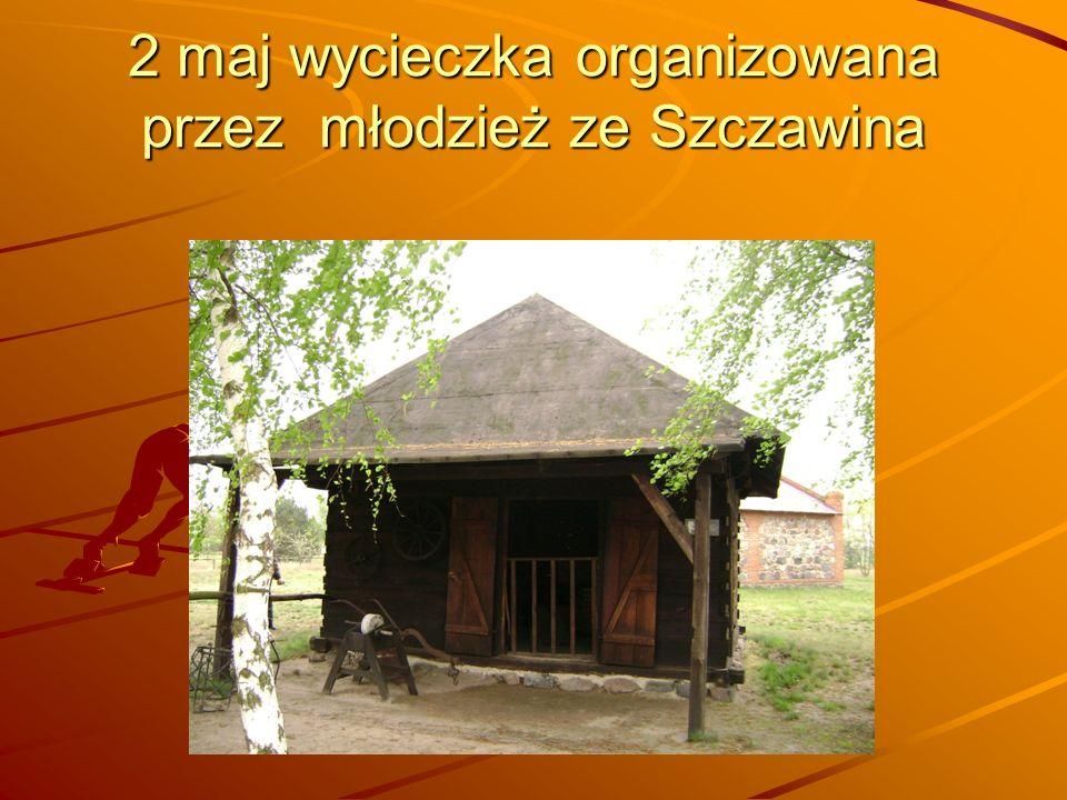 2 maj wycieczka organizowana przez młodzież ze Szczawina
