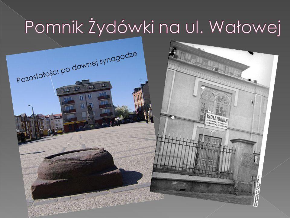 Pozostałości po dawnej synagodze