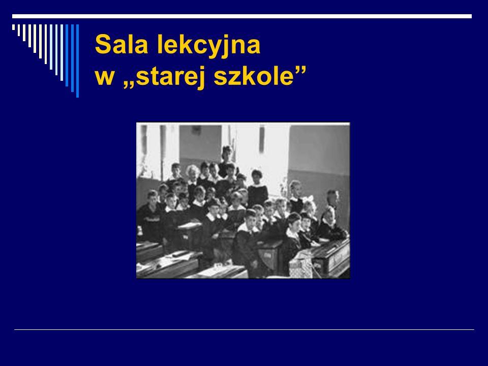 Sala lekcyjna w starej szkole