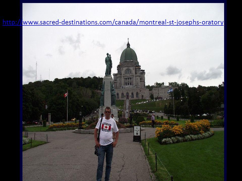 Na 263m (863 stóp), sanktuarium Świętego Józefa jest najwyższym punktem w Montrealu. Jego kopuła jest drugim co do wielkości tylko do Bazyliki Święteg