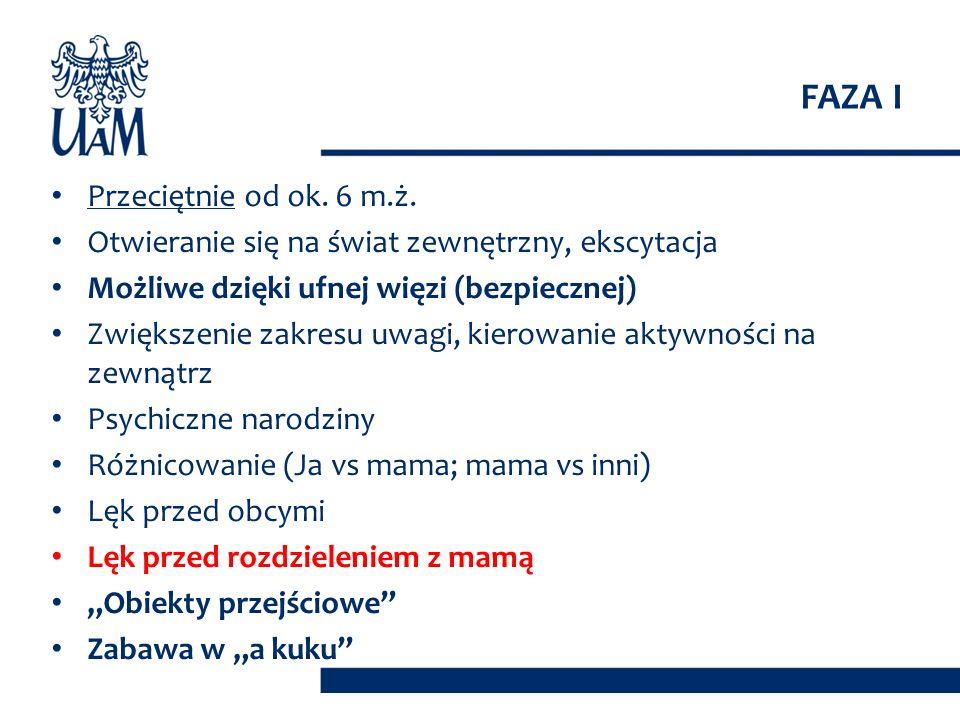 FAZA II OPIEKUN DZIECKO