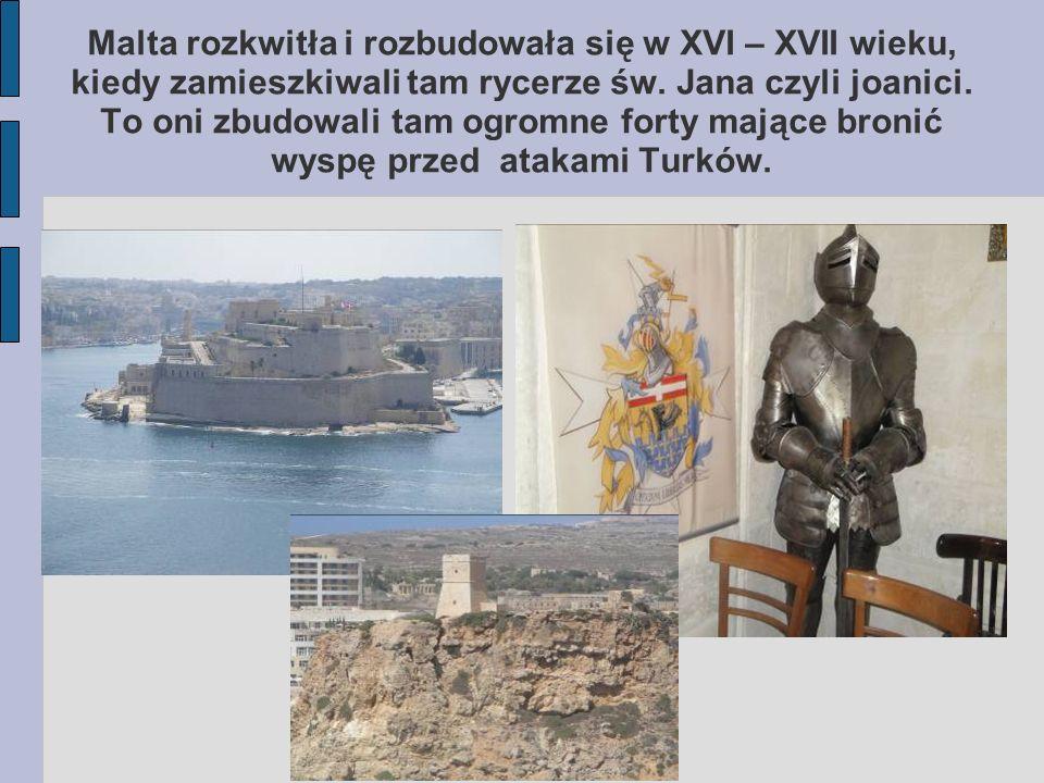 Nieoficjalny symbol Malty-ośmioramienny krzyż jest eksponowany w wielu miejscach oraz na różnych produktach