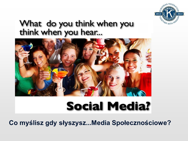 Co myślisz gdy słyszysz...Media Społecznościowe?