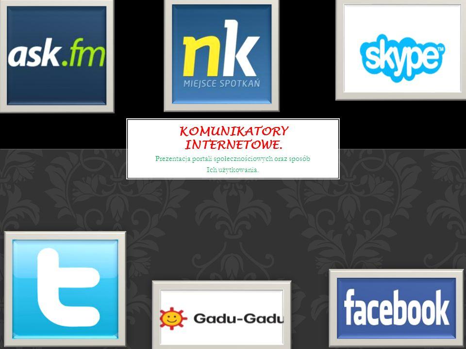 Prezentacja portali społecznościowych oraz sposób Ich użytkowania.