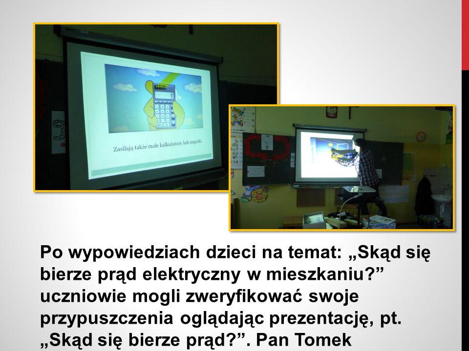 Dzięki prezentacji uczniowie poznali m.in.