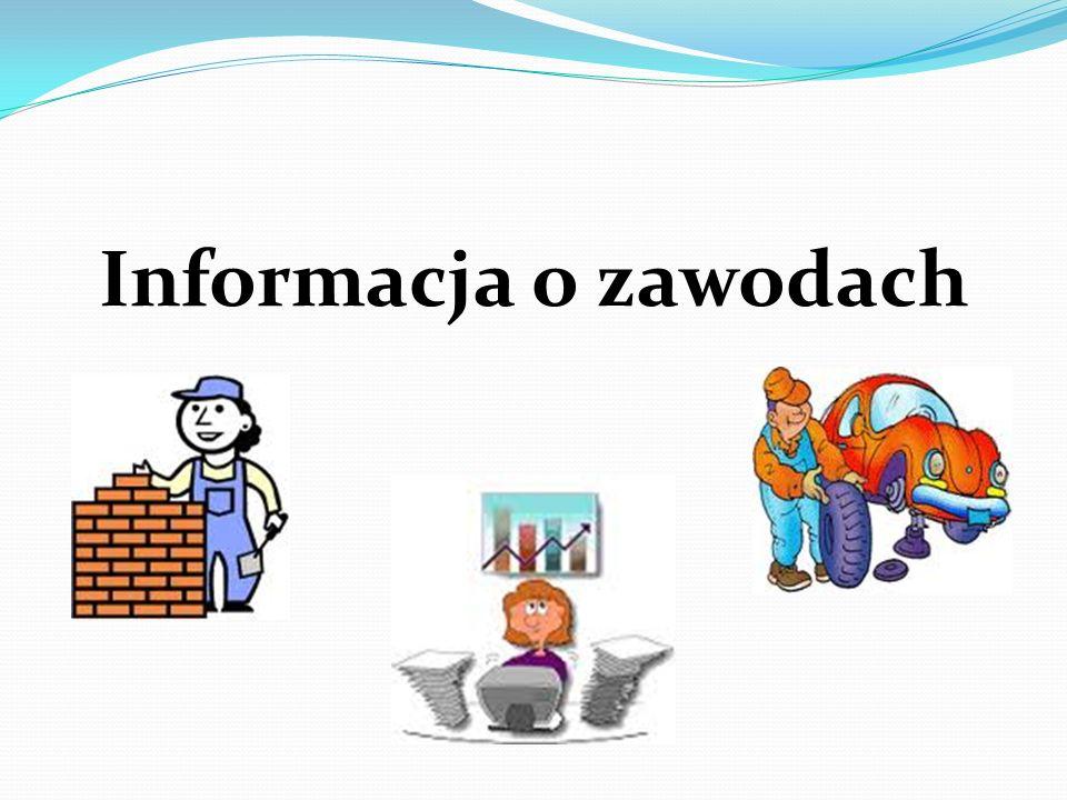 Informacja o zawodach