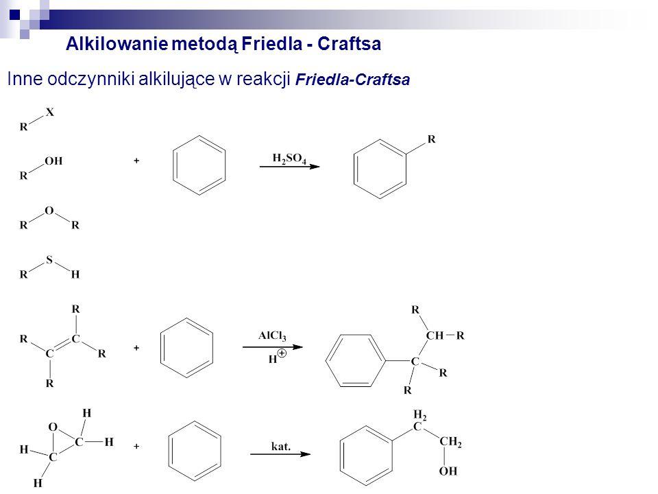 Alkilowanie Friedla - Craftsa Ograniczenia w alkilowaniu Friedla-Craftsa