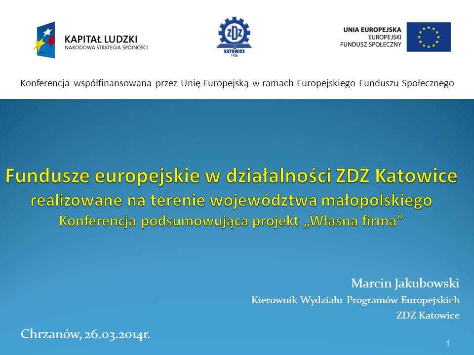 Kierunki wsparcia realizowane przez ZDZ Katowice w ramach projektów współfinansowanych z funduszy uwzględniane są na podstawie m.in.: dostępnych danych i prognoz dotyczących zapotrzebowania na zawody (np.