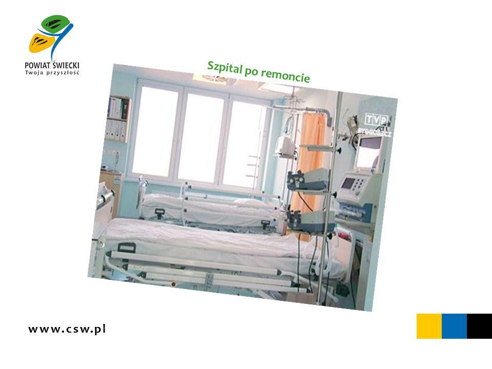 www.csw.pl Szpital po remoncie