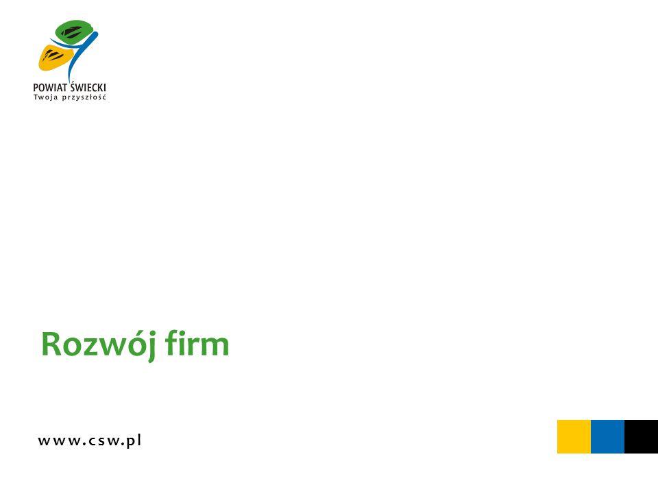 www.csw.pl Rozwój firm