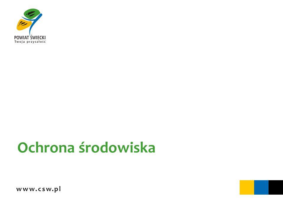 www.csw.pl Ochrona środowiska