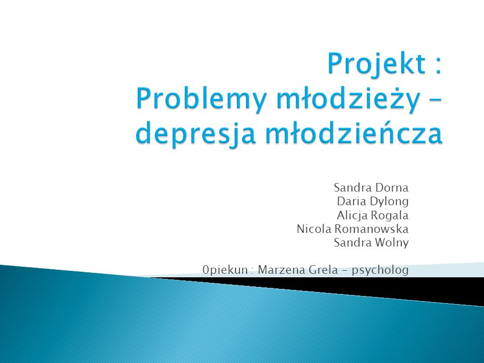 Sandra Dorna Daria Dylong Alicja Rogala Nicola Romanowska Sandra Wolny 0piekun : Marzena Grela - psycholog