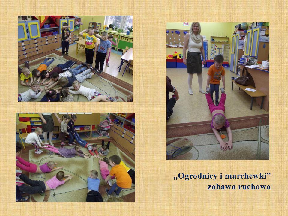 Ogrodnicy i marchewki zabawa ruchowa